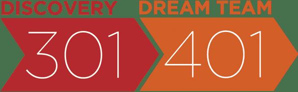 Discovery 301 & Dream Team 401