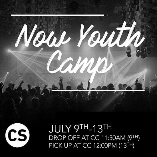 Youth Now Camp 2018