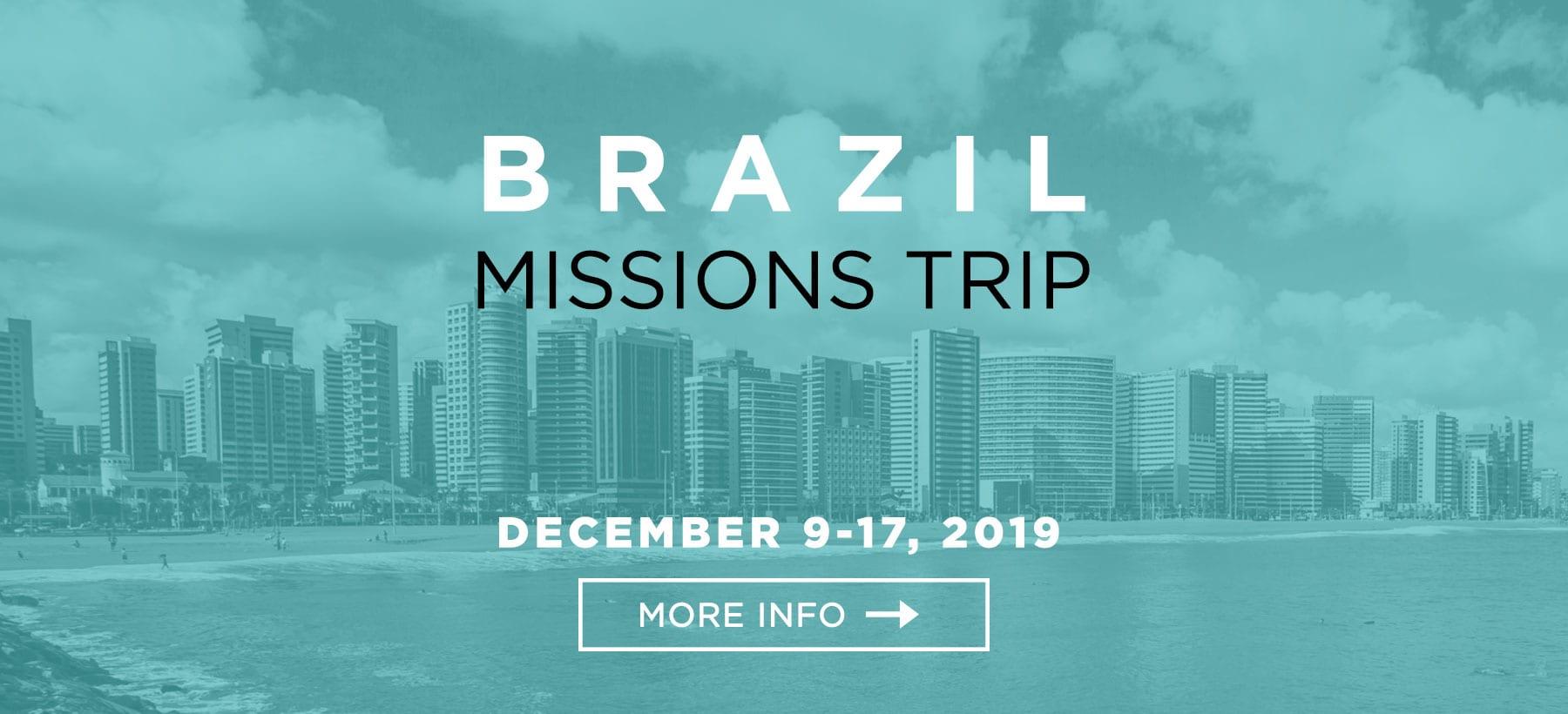 Brazil Missions Trip