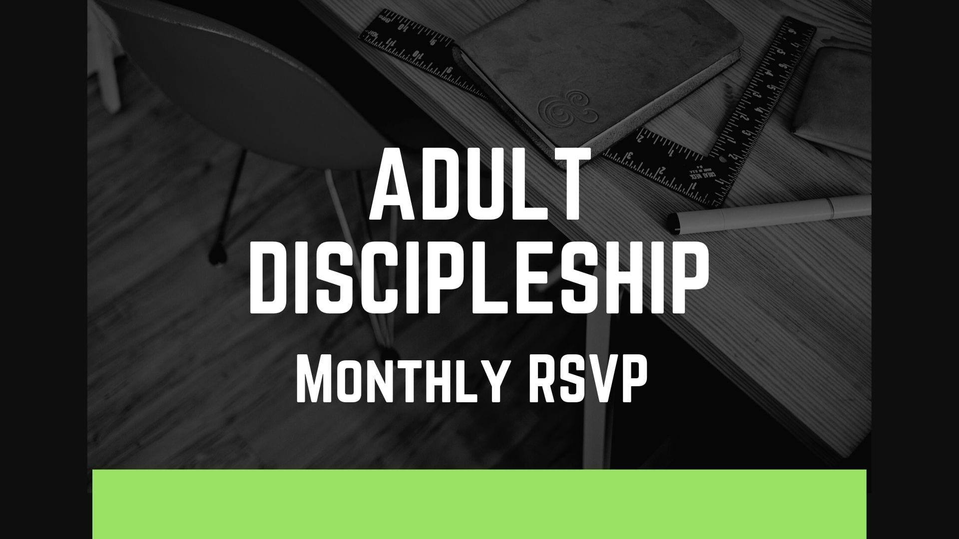 Adult Discipleship Monthly RSVP