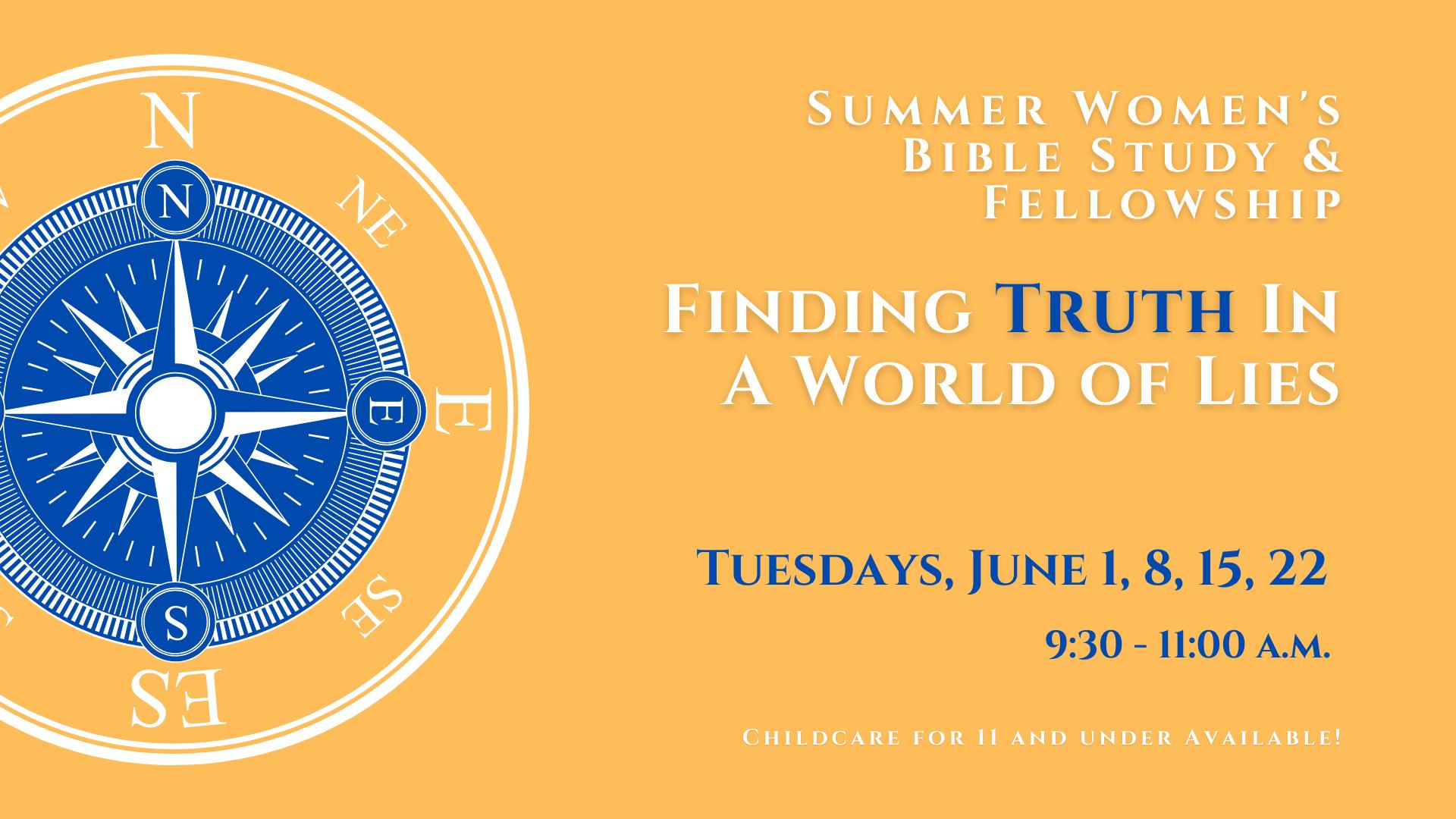 Summer Women's Bible Study