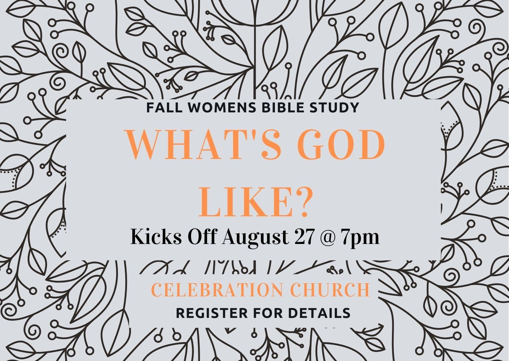 Fall Women's Bible Study-2